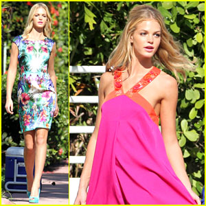 Erin Heatherton Continues Photo Shoots in Miami