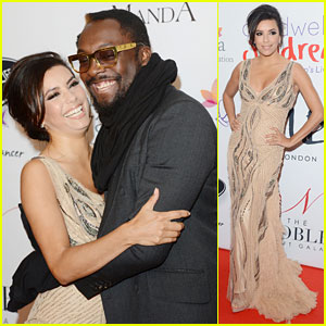 Eva Longoria: Noble Gift Gala with will.i.am!