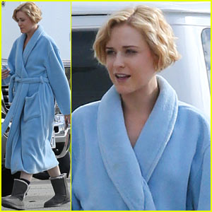 Evan Rachel Wood: Short Wavy Hair For '10 Things'!