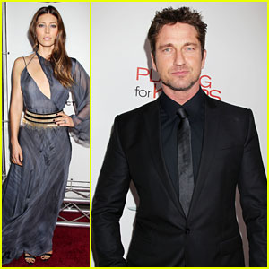 Gerard Butler & Jessica Biel: 'Playing for Keeps' Premiere!
