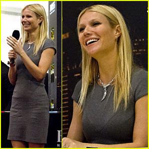 Gwyneth Paltrow: Boss Nuit Appearance in Dubai!