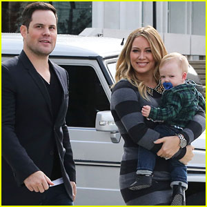 Hilary Duff & Mike Comrie: Fun Family Day with Luca!