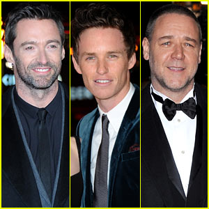 Hugh Jackman & Russell Crowe: 'Les Miserables' World Premiere!