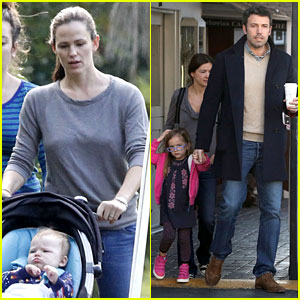 Jennifer Garner & Ben Affleck: Separate Morning Coffee Runs!