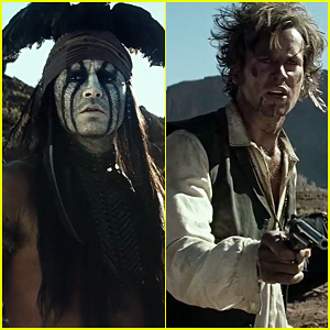Johnny Depp & Armie Hammer: 'Lone Ranger' Official Trailer!