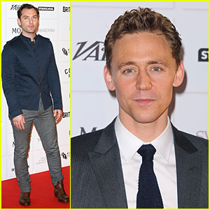 Jude Law & Tom Hiddleston: British Independent Film Awards 2