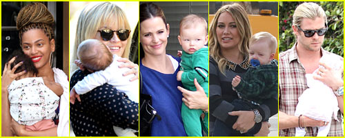 Just Jared's Celebrity Baby Birth Recap 2012