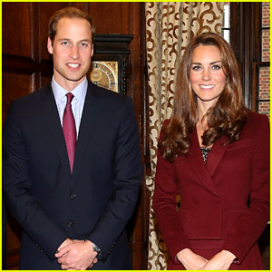 Kate Middleton & Prince William Offici