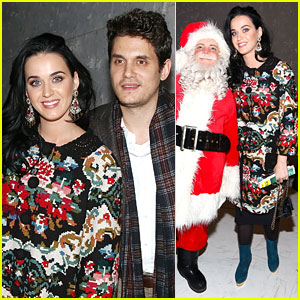 Katy Perry & John Mayer: 'Christmas Story' Backstage Visit!