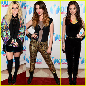 Ke$ha & Cher Lloyd: Y100 Jingle Ball 2012!