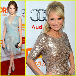 Kristin Chenoweth &#038; Anna Kendrick - Trevor Live 2012