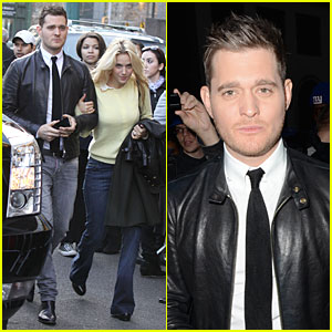 Michael Buble Believes in Santa Claus!