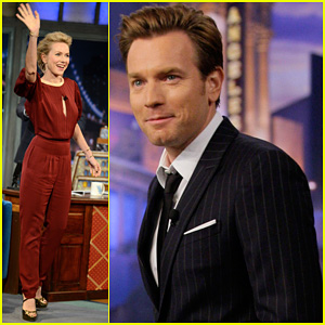 Naomi Watts &#038; Ewan McGregor: Talk Show Appearances!