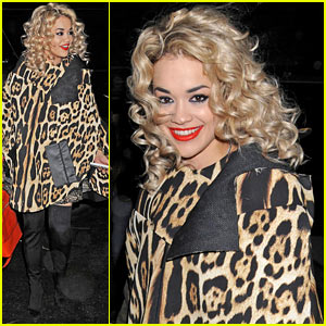 Rita Ora: London for the Holidays!