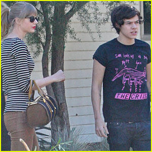 Taylor Swift &#038; Harry Styles Leave Her Home in LA
