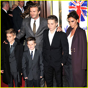 Victoria Beckham: 'Viva Forever' with David &#038; the Boys!