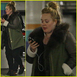 Adele: Weekend in Beverly Hills!