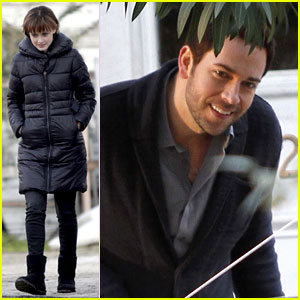 Alexis Bledel: 'Remember Sunday' Set with Zachary Levi!