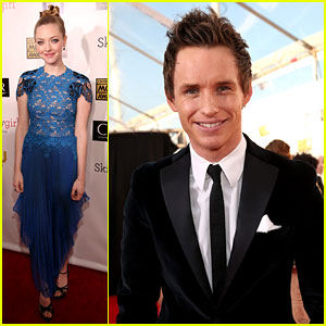 Amanda Seyfried & Eddie Redmayne - Critics' Choice Awards 2013