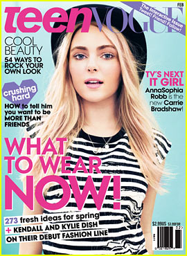 AnnaSophia Robb Covers 'Teen Vogue' February 2013