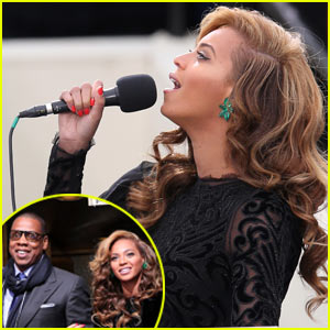Beyonce's National Anthem Inauguration Performance - Watch Now!