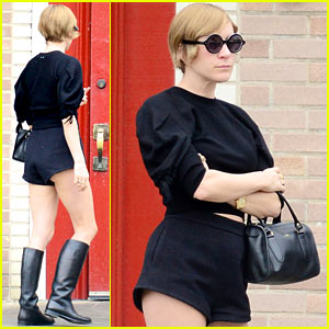Chloe Sevigny: Super Short Shorts at Little Dom's!