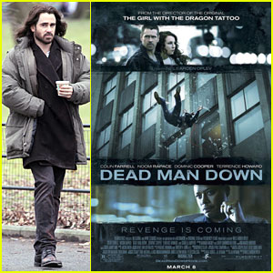 Colin Farrell: Newly Released 'Dead Man Down' Poster!