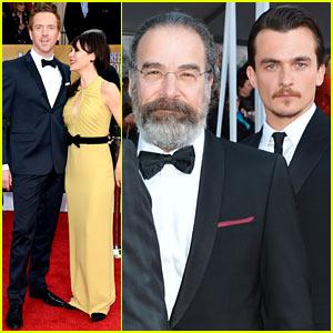 Damian Lewis & Rupert Friend - SAG Awards 2013 Red Carpet