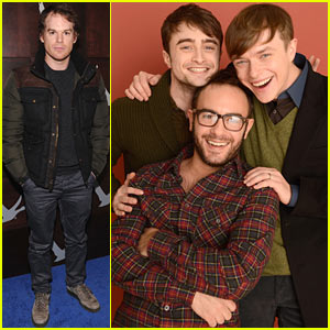 Daniel Radcliffe & Dane DeHaan: 'Kill Your Darlings' Sundance Portrait Session
