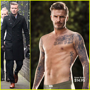 David Beckham: H&M Official Spring/Summer 2013 Ad - First Look!