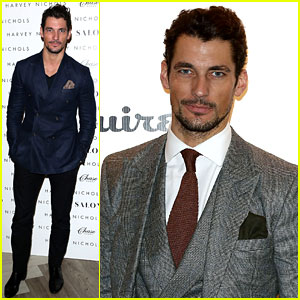 David Gandy Attends 'London Collecti