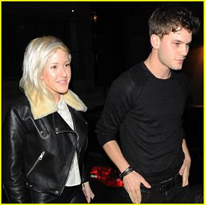 Ellie Goulding and Jeremy Irvine coordinate their casuals ...  Ellie Goulding Jeremy Irvine