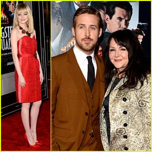 Emma Stone & Ryan Gosling: 'Gangster Squad' Premiere!