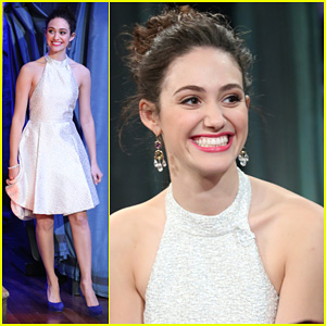 Emmy Rossum: 'Late Night with Jimmy Fallon' Appearance!