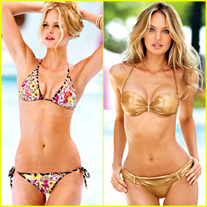 Erin Heatherton & Candice Swanepoel: Victoria's Secret Swim 2013 Catalogue Photos!