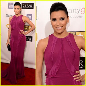 Eva Longoria - Critics' Choice Awards 2013 Red Carpet