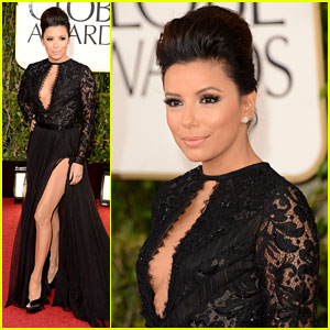 Eva Longoria - Golden Globes 2013 Red Carpet