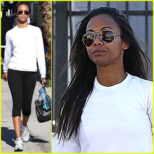 Gabrielle Union: Zoe Saldana is Awesome!