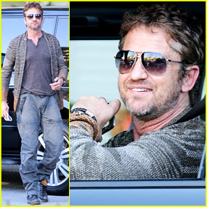 Gerard Butler: Beverly Hills Meeting Man!