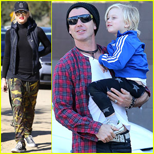 Gwen Stefani &#038; Gavin Rossdale: Runyon Canyon with the Kids