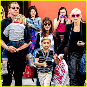 Gwen Stefani & Gavin Rossdale: Toy Shopping with the Kids!