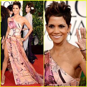 Halle Berry Golden Globes 2013 Red Carpet 2013 Golden