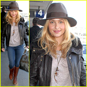 Hayden Panettiere: Post Golden Globes Los Angeles Departure!