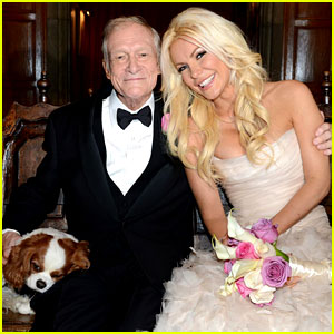 Hugh Hefner & Crystal Harris Wedding Pictures Revealed!