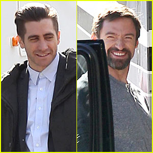 Hugh Jackman & Jake Gyllenhaal: 'Prisoners' First On Set Photos!