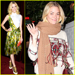 Jaime King: Chateau Marmont with Kyle Newman!