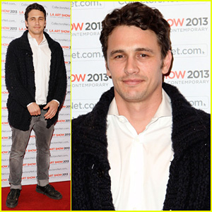 James Franco: LA Art Show Opening Night Premiere Party!