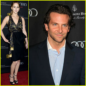 Jennifer Lawrence & Bradley Cooper - BAFTA Tea Party 2013
