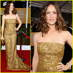 Jennifer Garner - SAG Awards 2013 Red Carpet