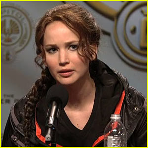 Jennifer Lawrence: SNL's 'Hunger Games' Sketch - Watch Now!